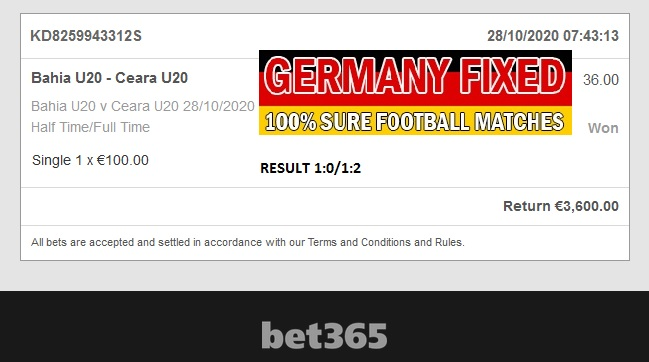 Accurate soccer fixed bets