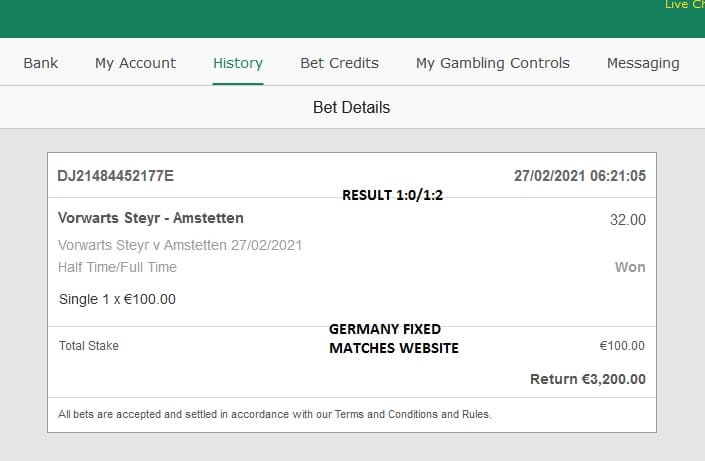Austria soccer fixed sure, Austria football fixed tip, HTFT high odd fixed